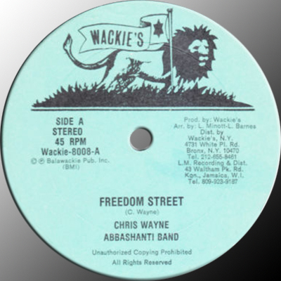Wackies Rhythm Force African Roots Act V