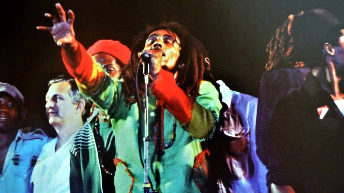 One Love Peace Concert, Kingston Jamaica, 1978