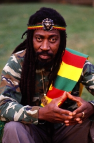 Bunny Wailer in Notting Hill, London 17 August 1988